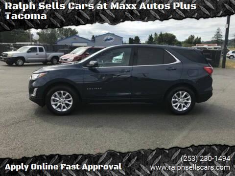 2019 Chevrolet Equinox for sale at Ralph Sells Cars at Maxx Autos Plus Tacoma in Tacoma WA