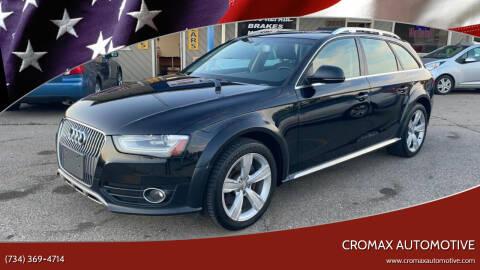 2013 Audi Allroad for sale at Cromax Automotive in Ann Arbor MI