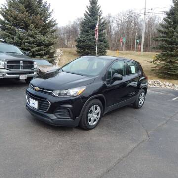 2018 Chevrolet Trax for sale at TIM'S ALIGNMENT & AUTO SVC in Fond Du Lac WI