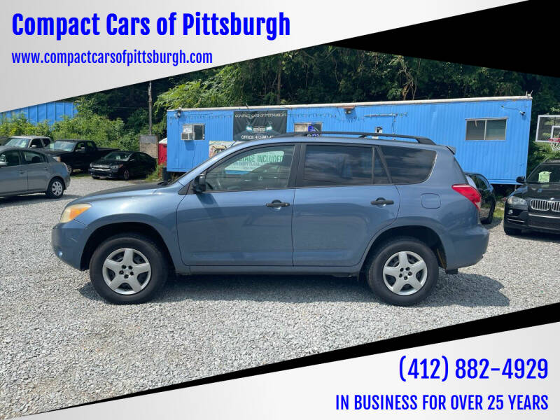 2006 Toyota RAV4 for sale at Compact Cars of Pittsburgh in Pittsburgh PA