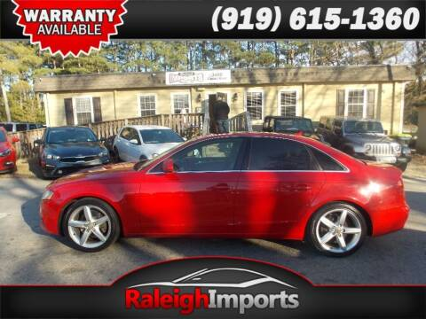 2009 Audi A4 for sale at Raleigh Imports in Raleigh NC