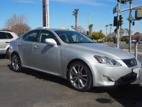 2008 Lexus IS 250 for sale at Corona Auto Wholesale in Corona CA