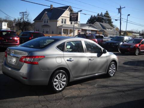 2014 Nissan Sentra for sale at Best Wheels Imports in Johnston RI