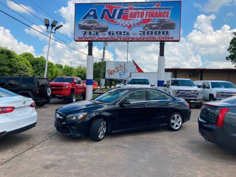 2015 Mercedes-Benz CLA for sale at ANF AUTO FINANCE in Houston TX