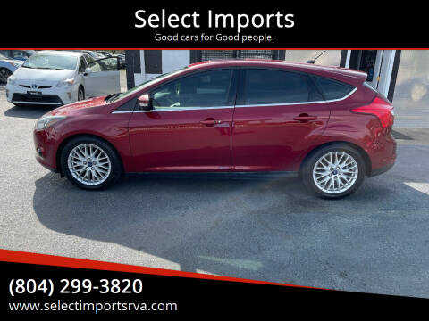 2014 Ford Focus for sale at Select Imports in Ashland VA