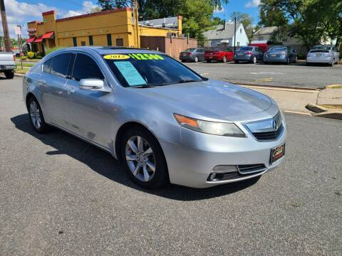 2012 Acura TL for sale at Costas Auto Gallery in Rahway NJ