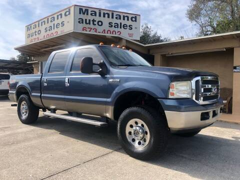 2005 Ford F-250 Super Duty for sale at Mainland Auto Sales Inc in Daytona Beach FL