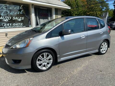 2009 Honda Fit for sale at Real Deal Auto Sales in Auburn ME