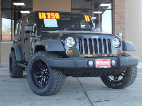 2011 Jeep Wrangler Unlimited for sale at Arandas Auto Sales in Milwaukee WI