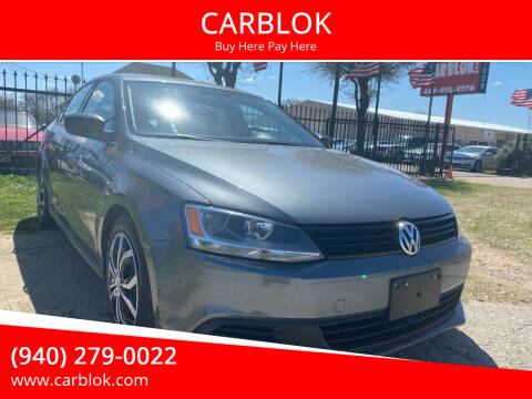 2014 Volkswagen Jetta for sale at CARBLOK in Lewisville TX