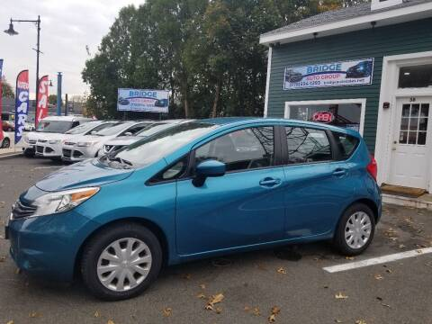 2016 Nissan Versa Note for sale at Bridge Auto Group Corp in Salem MA