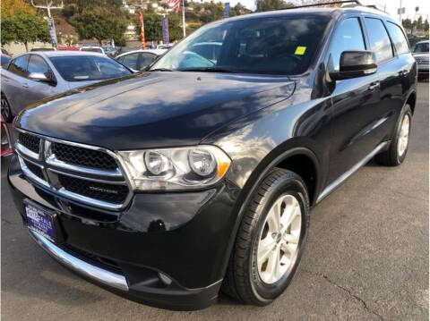 2012 Dodge Durango for sale at AutoDeals in Hayward CA