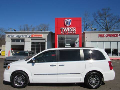 2014 Chrysler Town and Country for sale at Twins Auto Sales Inc in Detroit MI