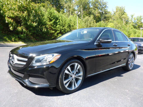 2015 Mercedes-Benz C-Class for sale at RUSTY WALLACE KIA OF KNOXVILLE in Knoxville TN