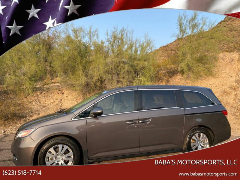 2014 Honda Odyssey for sale at Baba's Motorsports, LLC in Phoenix AZ