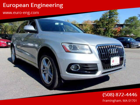 2015 Audi Q5 for sale at European Engineering in Framingham MA