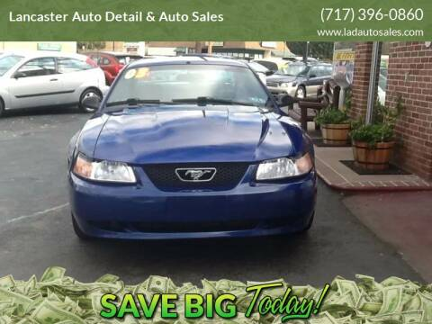 2003 Ford Mustang for sale at Lancaster Auto Detail & Auto Sales in Lancaster PA