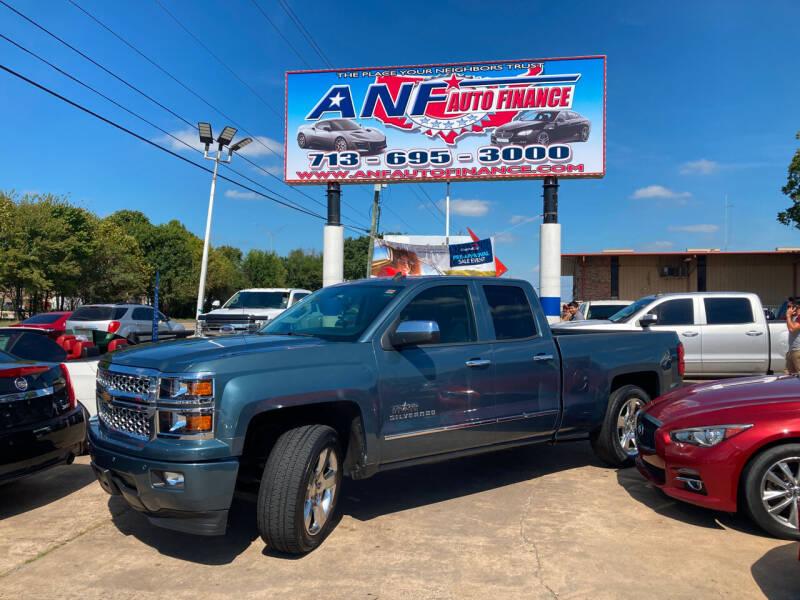 2014 Chevrolet Silverado 1500 for sale at ANF AUTO FINANCE in Houston TX