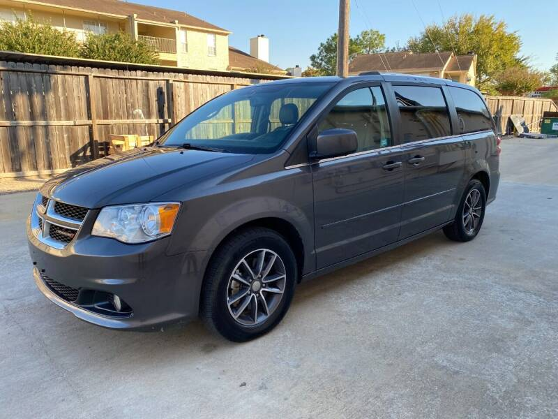 2017 Dodge Grand Caravan for sale at T.S. IMPORTS INC in Houston TX