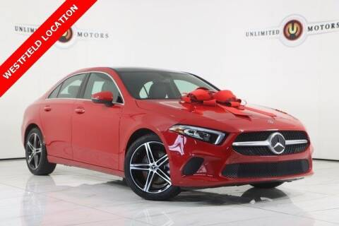 2019 Mercedes-Benz A-Class for sale at INDY'S UNLIMITED MOTORS - UNLIMITED MOTORS in Westfield IN
