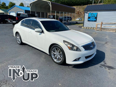 2011 Infiniti G37 Sedan for sale at Elite Auto Brokers in Lenoir NC