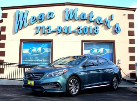 2015 Hyundai Sonata for sale at MEGA MOTORS in South Houston TX