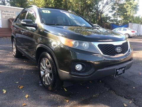 2011 Kia Sorento for sale at PARK AVENUE AUTOS in Collingswood NJ