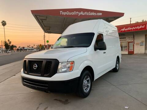 2013 Nissan NV Cargo for sale at Top Quality Auto Sales in Redlands CA