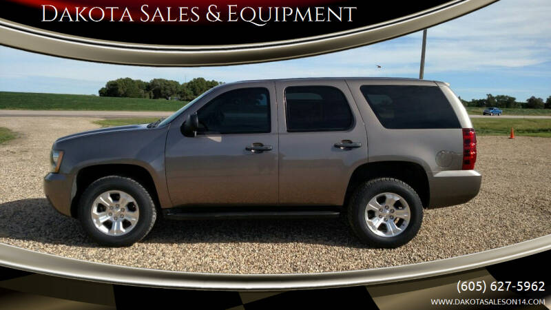 2014 Chevrolet Tahoe for sale at Dakota Sales & Equipment in Arlington SD