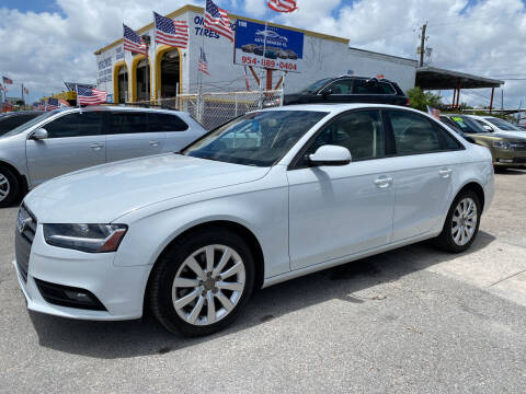 2014 Audi A4 for sale at INTERNATIONAL AUTO BROKERS INC in Hollywood FL