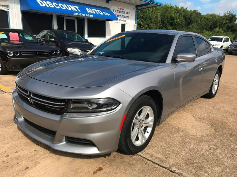 2016 Dodge Charger for sale at Discount Auto Company in Houston TX