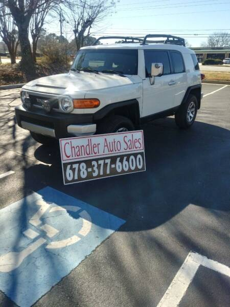 2014 Toyota FJ Cruiser for sale at Chandler Auto Sales - ABC Rent A Car in Lawrenceville GA