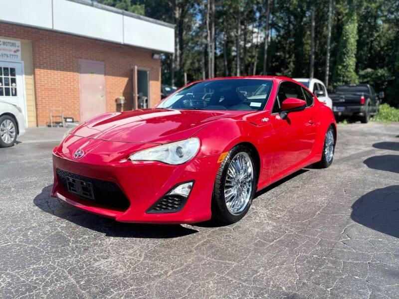 2013 Scion FR-S for sale at Magic Motors Inc. in Snellville GA