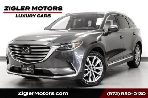 2018 Mazda CX-9 for sale at Zigler Motors in Addison TX