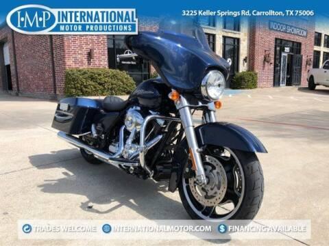 "2012 Harley-Davidson Street Glideâ""¢ for sale at International Motor Productions in Carrollton TX"