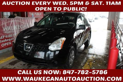 2010 Nissan Rogue for sale at Waukegan Auto Auction in Waukegan IL