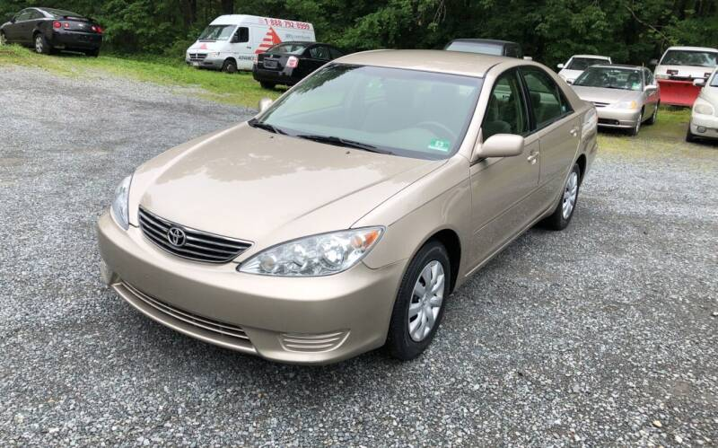 2005 Toyota Camry for sale at J.W. Auto Sales INC in Flemington NJ