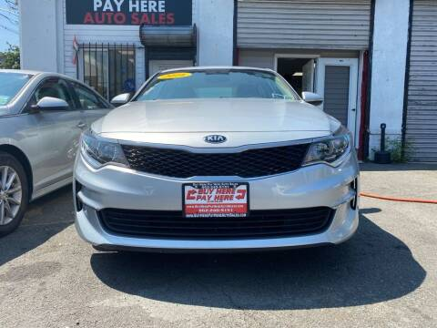 2016 Kia Optima for sale at Buy Here Pay Here Auto Sales in Newark NJ
