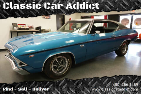 1969 Chevrolet Chevelle for sale at Classic Car Addict in Mesa AZ