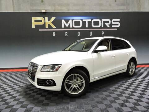 2014 Audi Q5 for sale at PK MOTORS GROUP in Las Vegas NV