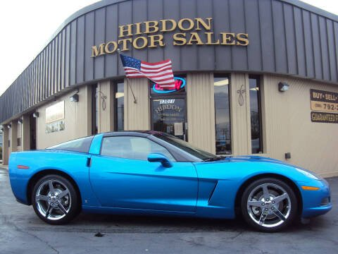 2008 Chevrolet Corvette for sale at Hibdon Motor Sales in Clinton Township MI