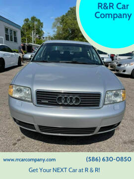 2003 Audi A6 for sale at R&R Car Company in Mount Clemens MI