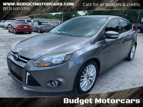 2014 Ford Focus for sale at Budget Motorcars in Tampa FL