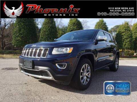 2014 Jeep Grand Cherokee for sale at Phoenix Motors Inc in Raleigh NC