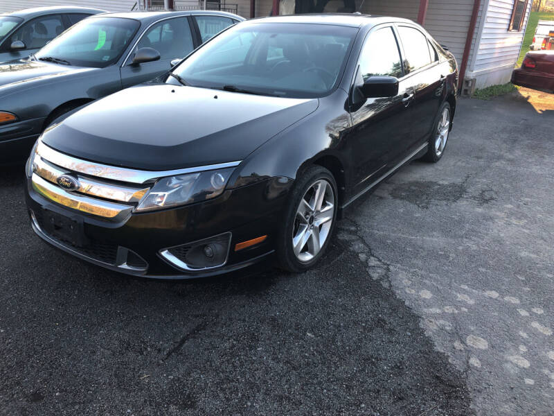 2010 Ford Fusion for sale at CENTRAL AUTO SALES LLC in Norwich NY