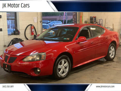 2007 Pontiac Grand Prix for sale at JK Motor Cars in Pittsburgh PA
