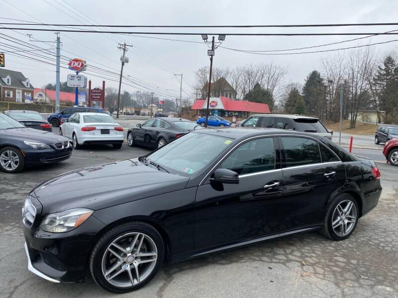 2014 Mercedes-Benz E-Class for sale at Masic Motors, Inc. in Harrisburg PA