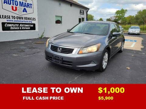 2009 Honda Accord for sale at Auto Mart USA -Lease To Own in Kansas City MO