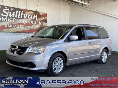 2015 Dodge Grand Caravan for sale at SULLIVAN MOTOR COMPANY INC. in Mesa AZ