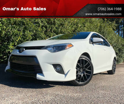 2015 Toyota Corolla for sale at Omar's Auto Sales in Martinez GA